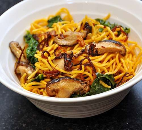 how to cook shiitake mushrooms for ramen