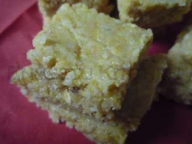 Oats Cornmeal Coconut Squares
