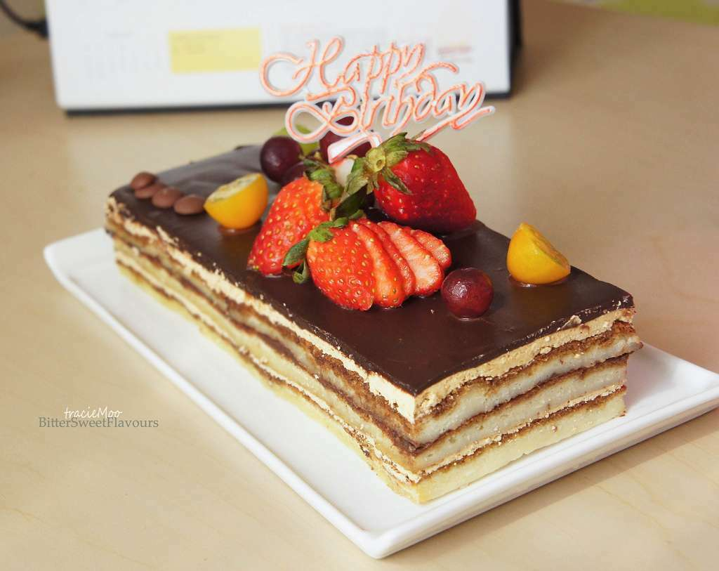 Opera Cake Recipe Step By Step