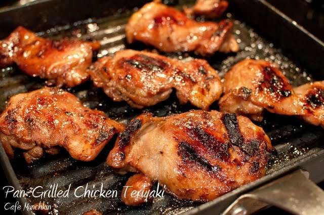 Pan Grilled Chicken Teriyaki Recipe Petitchef