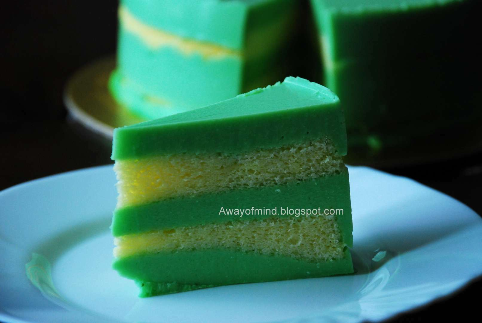 Pandan Cake Jelly Recipe: Pandan Layer Cake, Recipe Petitchef