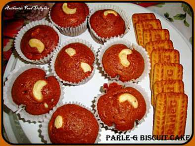 Parle-G Biscuit Cake