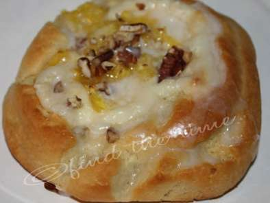 Pineapple Cream Cheese Danish