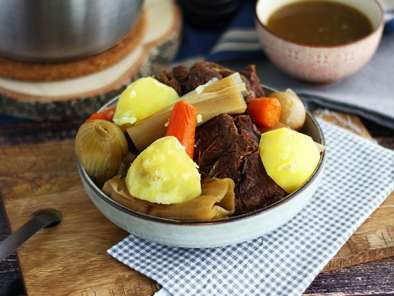 Pot-au-feu, the French stew