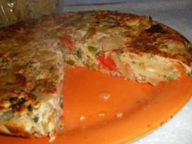 Prawn Egg Tortilla (also known as spanish omelet), photo 2