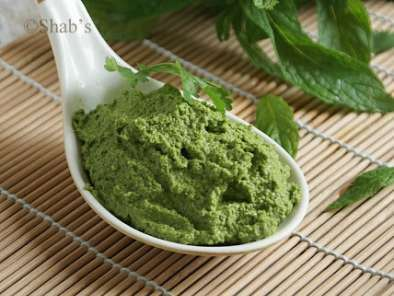 Pudina ki Chutney (Mint Chutney), photo 2