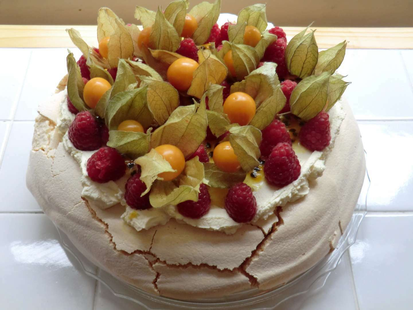 Passion Fruit Meringue Cake Recipe