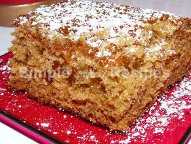 Simple cake recipe with ginger, Photo 2