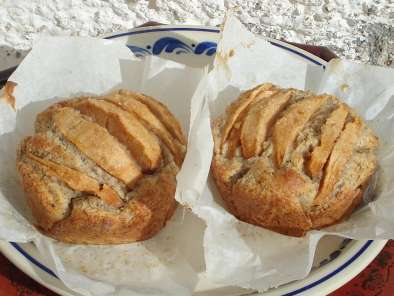Small fascinating apple hazelnut cakes, photo 2