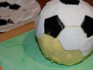 Tremendous Soccer Ball Birthday Cake Recipe Petitchef Funny Birthday Cards Online Overcheapnameinfo