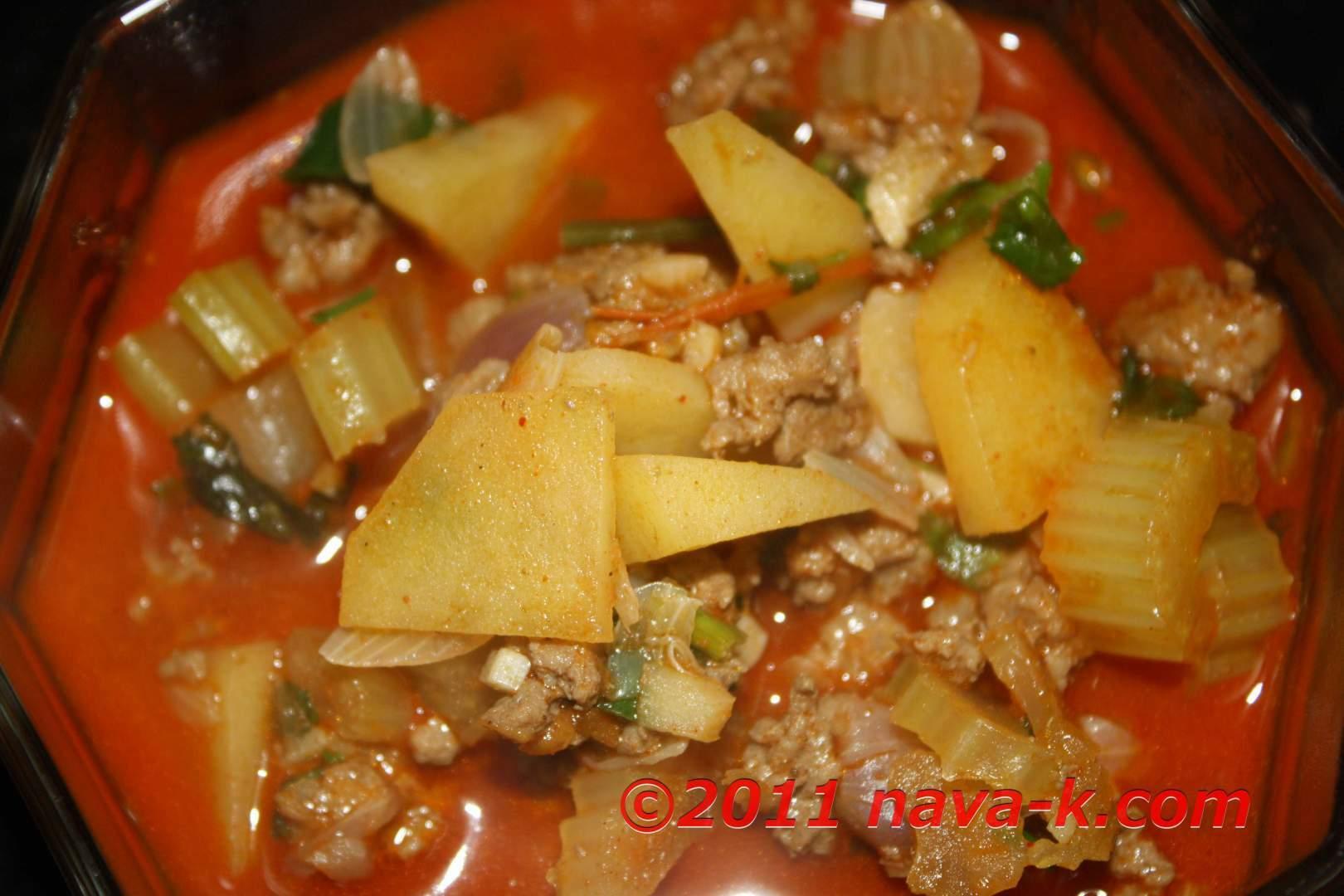 Spicy lamb stew, Recipe Petitchef