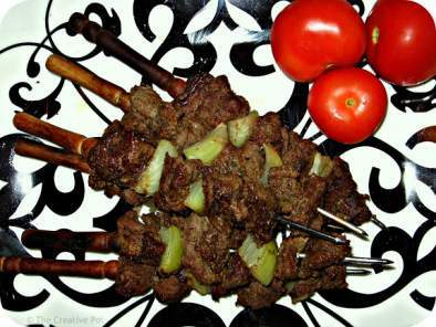 Spicy Mexican Beef Skewers