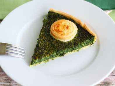 Spinach and goat cheese quiche, photo 4