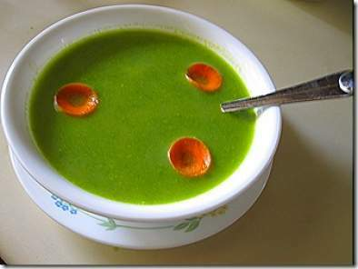 SPINACH CARROT SOUP