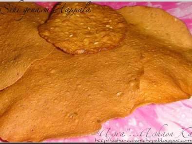 SUN DRIED SWEET POTATO ROUNDS (Genasina Happala, Shakkarkhand Papad), Photo 2