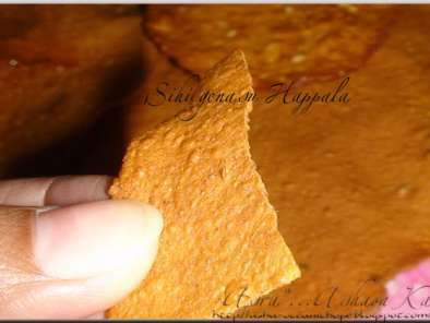 SUN DRIED SWEET POTATO ROUNDS (Genasina Happala, Shakkarkhand Papad), Photo 3