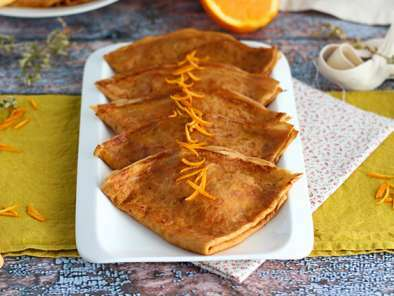 Suzette crepes, the traditionnal French recipe!
