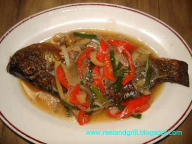 Tilapia in Oyster Sauce and Veggies - Escabeche Style, Photo 3