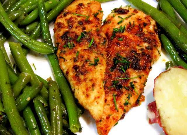 Today 39 s dinner easy baked chicken recipe petitchef for What should i make for dinner with chicken