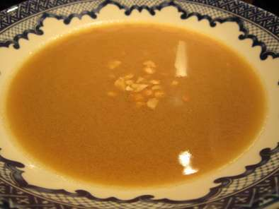 Virginia Peanut and Chestnut Soup