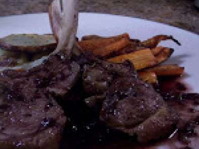 Want to Wine and Dine But Short on Time? (Recipe ? Rack of Lamb in Red Wine Sauce)
