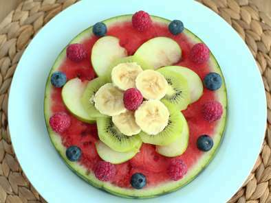 Watermelon pizza, the pretty fruit salad, Photo 2