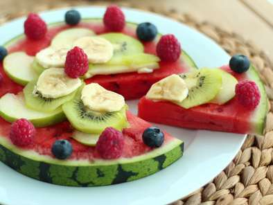 Watermelon pizza, the pretty fruit salad, Photo 3