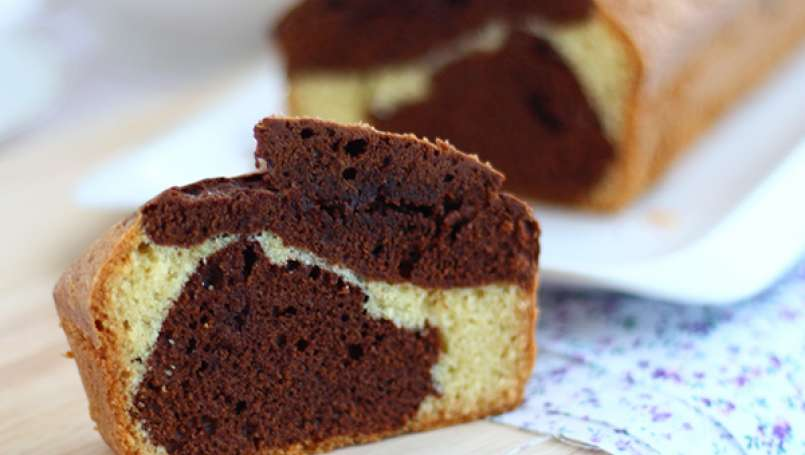 Marble cake - Video recipe !