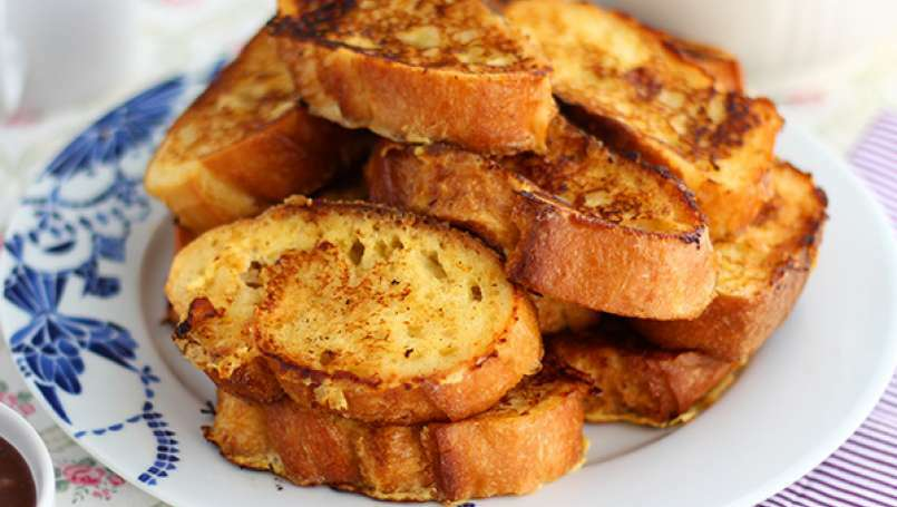French toast, the real recipe - Video recipe !