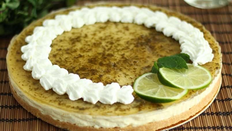 Mojito Cheesecake - Video recipe!