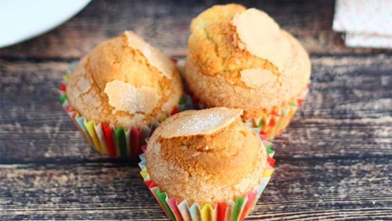 Magdalenas, Spanish muffins - Video recipe!
