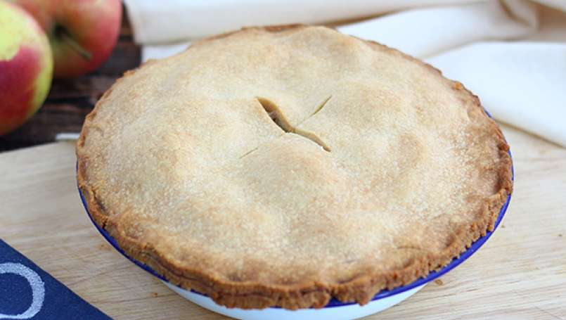 Apple pie, the classic
