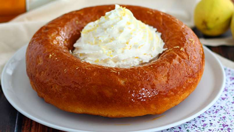 Rum baba, the detailed recipe