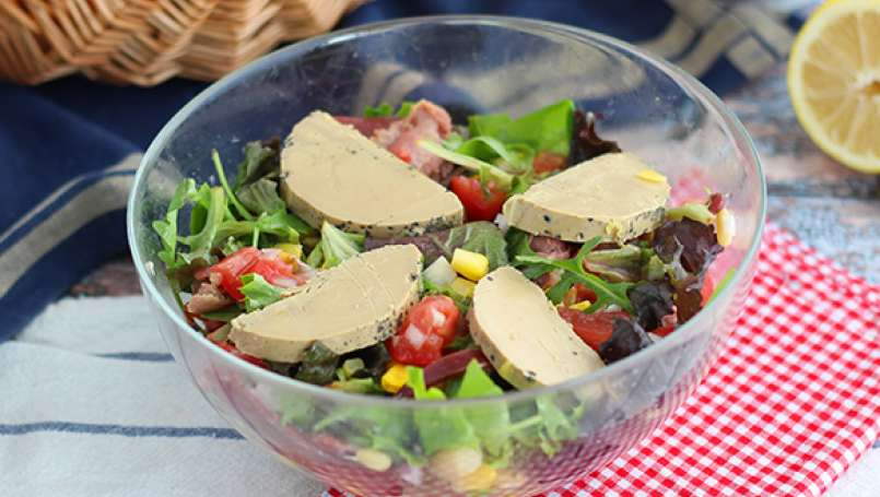 French landaise salad
